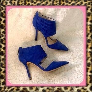 👑Vince Camuto Cobalt Blue Heels